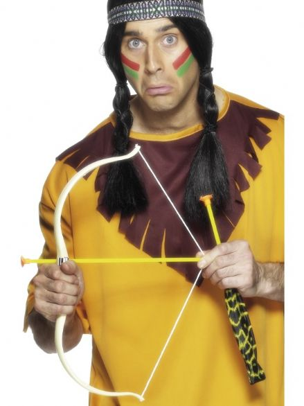 Wild West Indian Bow & Arrow Set